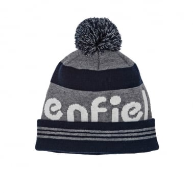Sanford Beanie - Grey/Navy