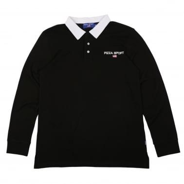 Sport Rugby Shirt - Black/White