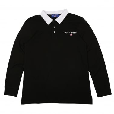 Sport Rugby Shirt - Black/White