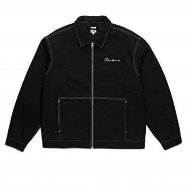215098e6528  94 Denim Jacket - Black