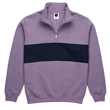 Blocked Zip Sweatshirt