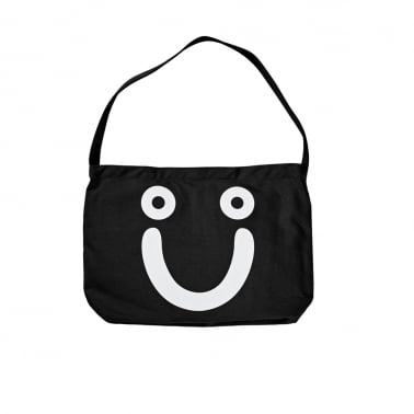 Happy Sad Tote Bag - Black