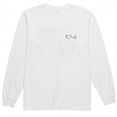 Orchid Logo Long Sleeve T-Shirt - White