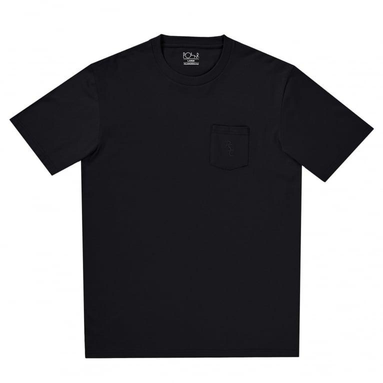 Polar Skate Co. PSC Pocket Tee - Black