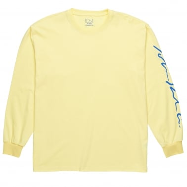 Signature Long Sleeve T-Shirt - Light Yellow