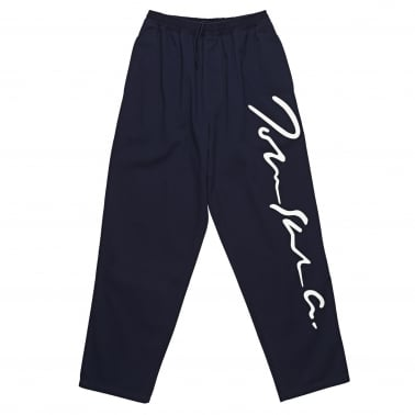 Signature Print Surf Pants - Navy