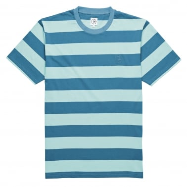 X Ron Chatman Block Stripe T-Shirt - Mint