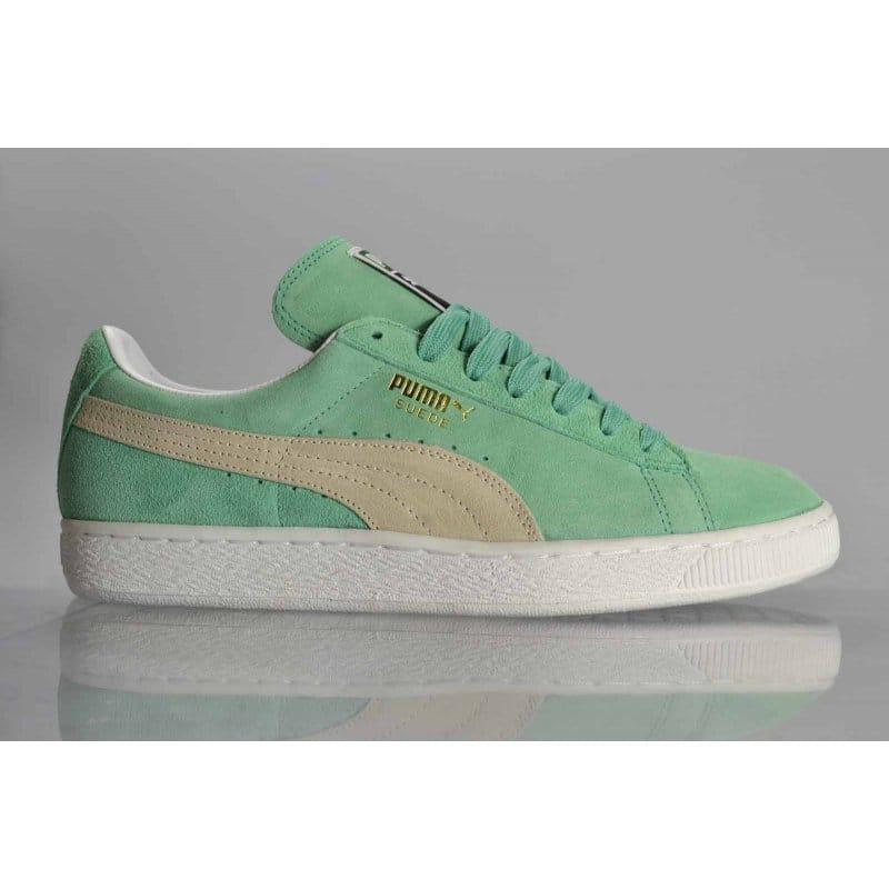 Puma Suede Classic Electric Green