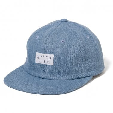 Denim Polo Cap - Light Blue
