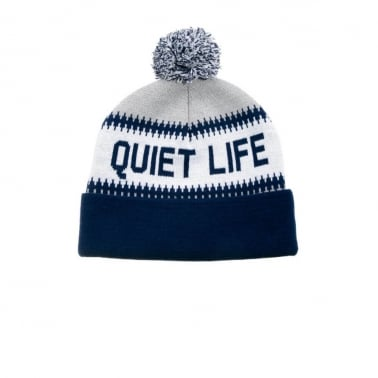 Flake Beanie Grey/Navy
