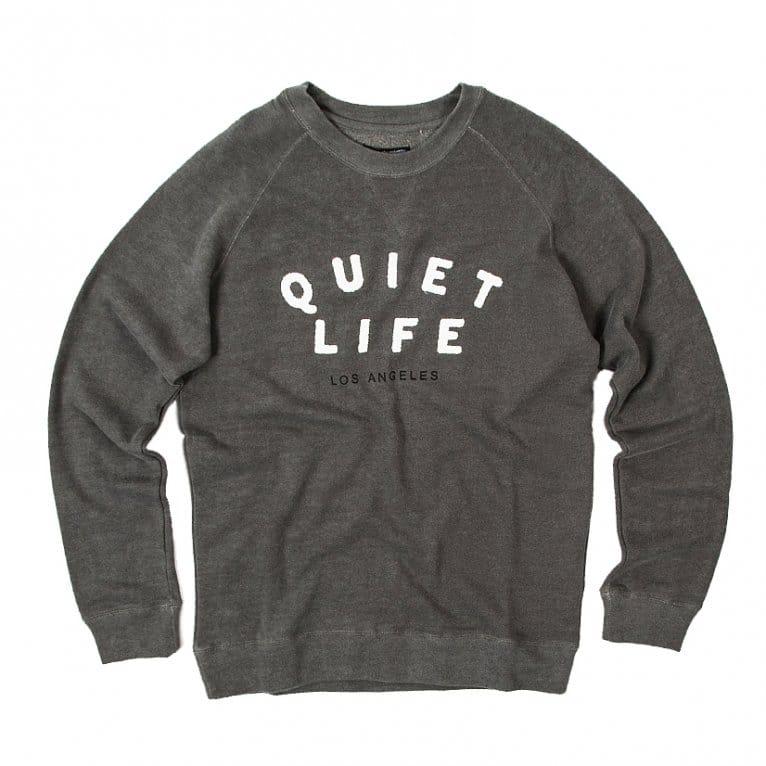 The Quiet Life Jackson Sweatshirt - Grey Heather