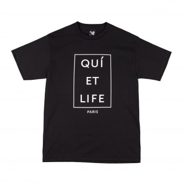 Paris Tee Black