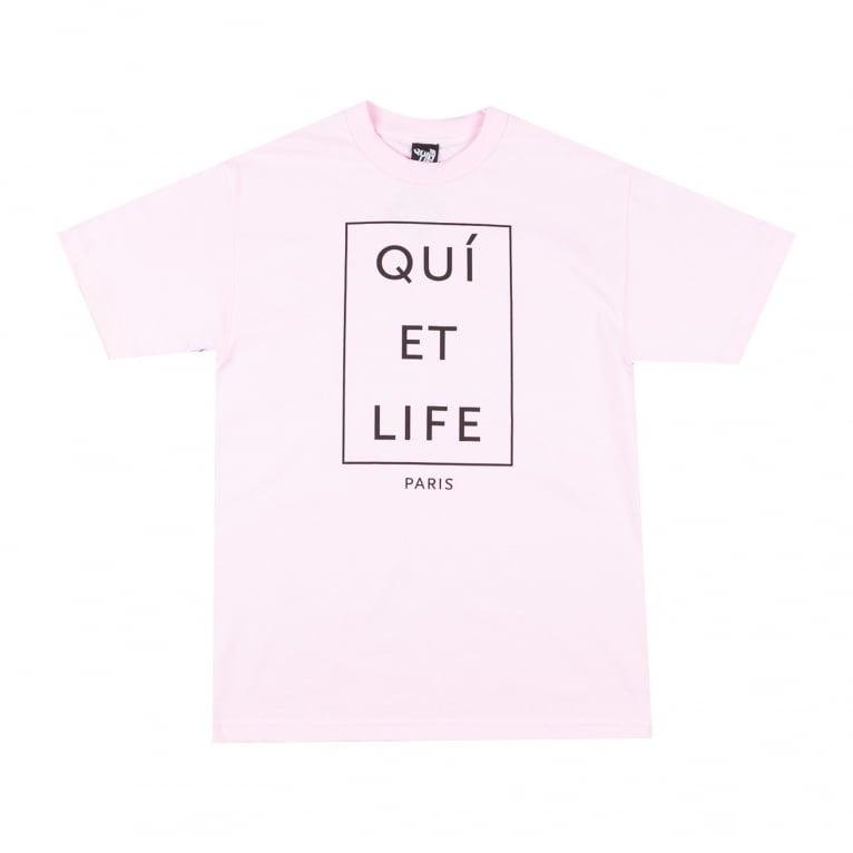 The Quiet Life Paris Tee Black