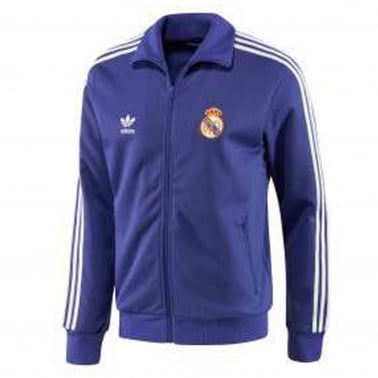Real Madrid Track Top - Purple