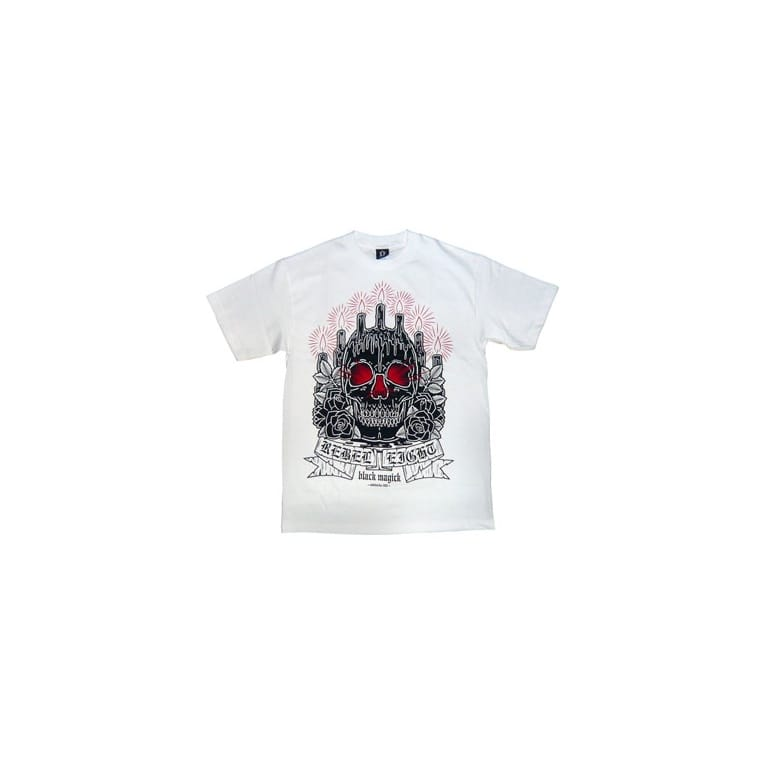 Rebel 8 Altar Tee White