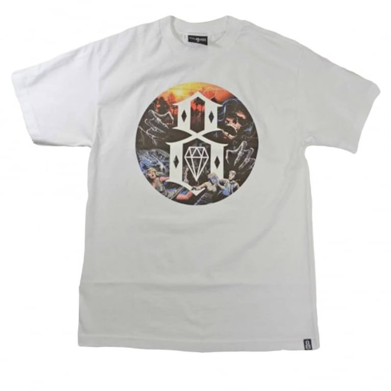 Rebel 8 Apocalypse T-shirt - White