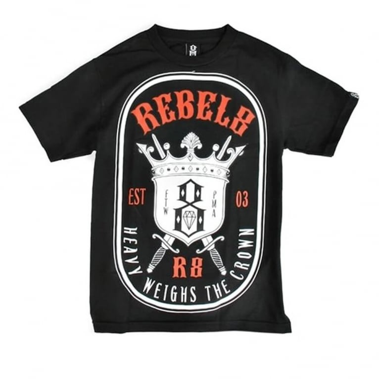 Rebel 8 H.w.t.c Tee Black