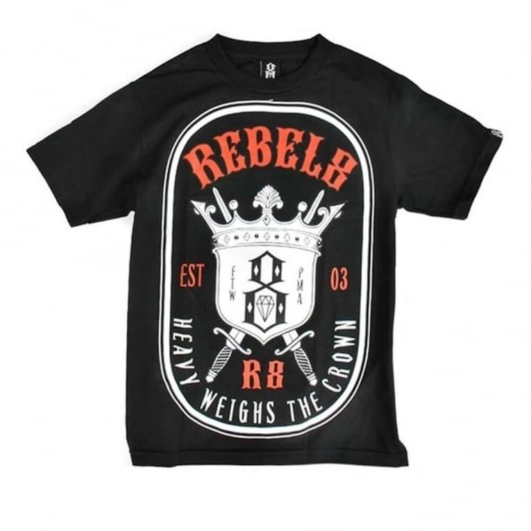 Rebel 8 H.w.t.c Tee Black