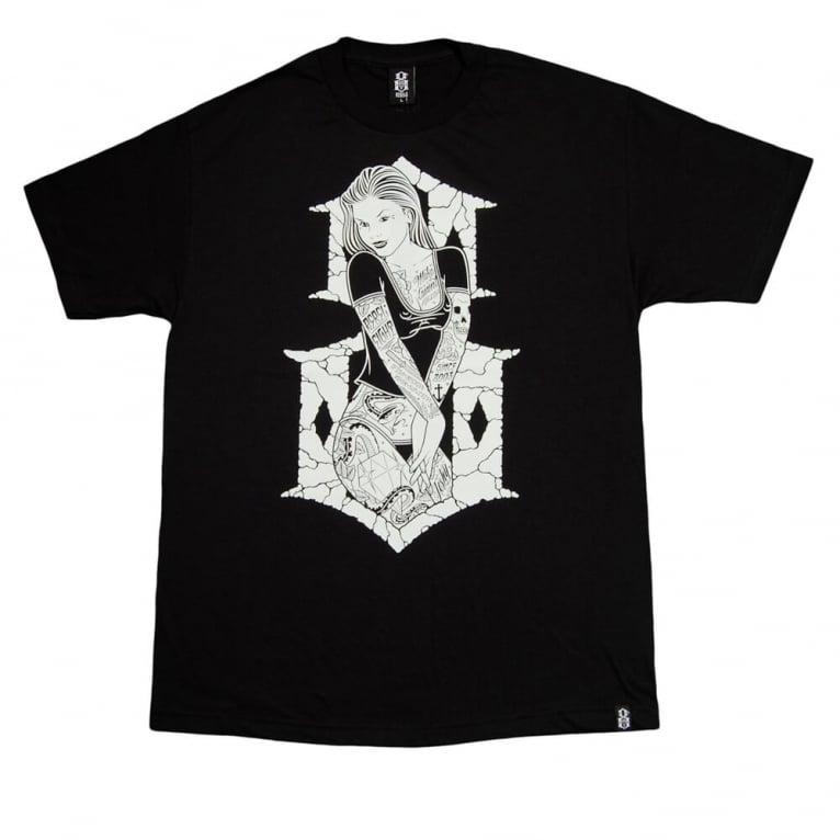 Rebel 8 6th Street T-shirt - Black