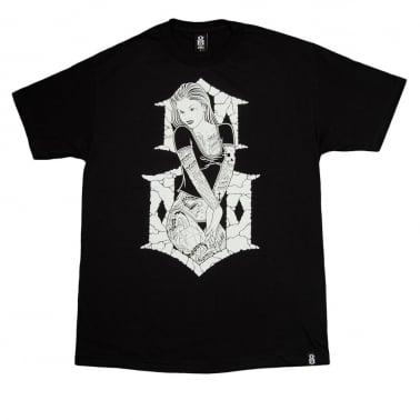 6th Street T-shirt - Black
