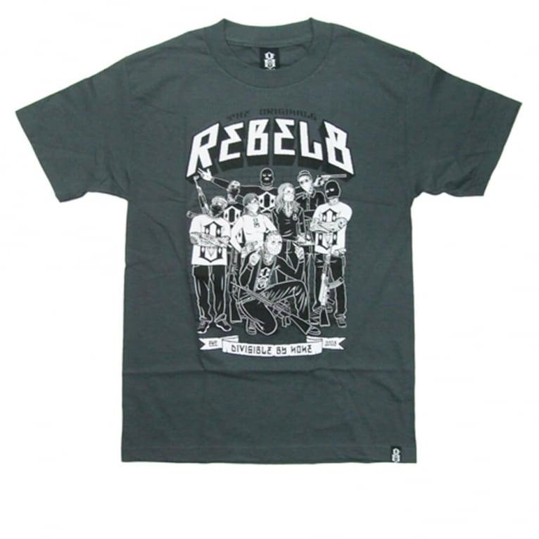 Rebel 8 8 Team T-shirt - Charcoal