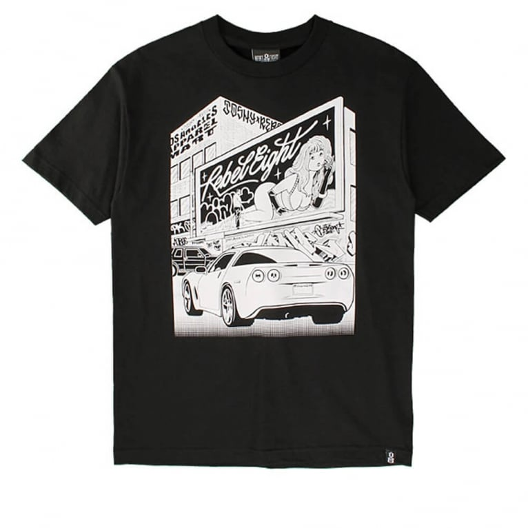 Rebel 8 Angel OG T-shirt - Black