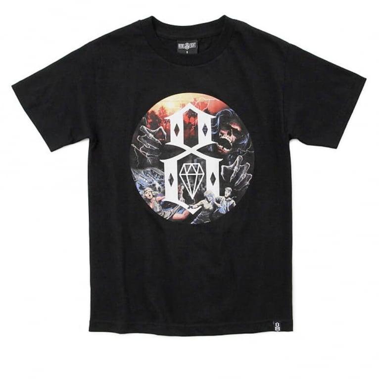 Rebel 8 Apocalypse T-shirt - Black
