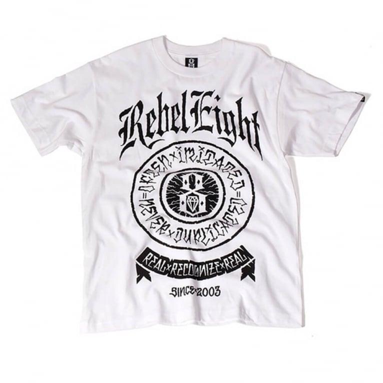 Rebel 8 Bite The Bullet T-shirt - White