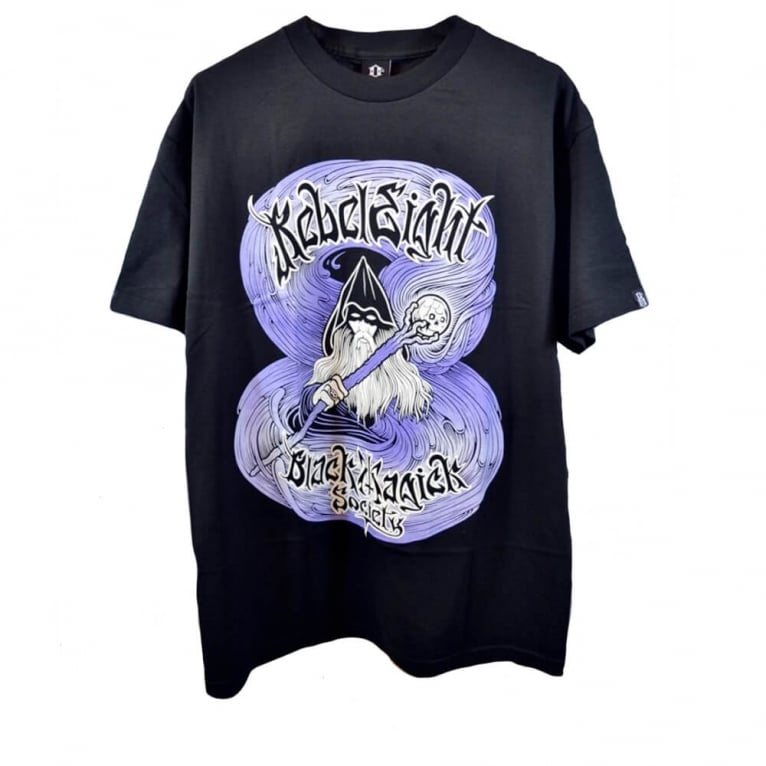 Rebel 8 Black Magic T-shirt - Black