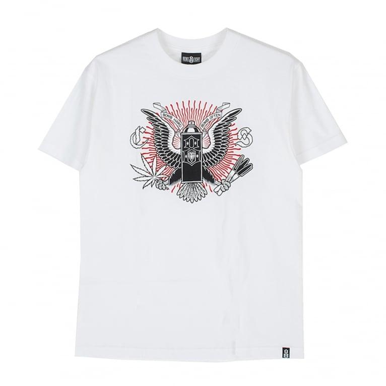 Rebel 8 Bomb Often T-Shirt - White