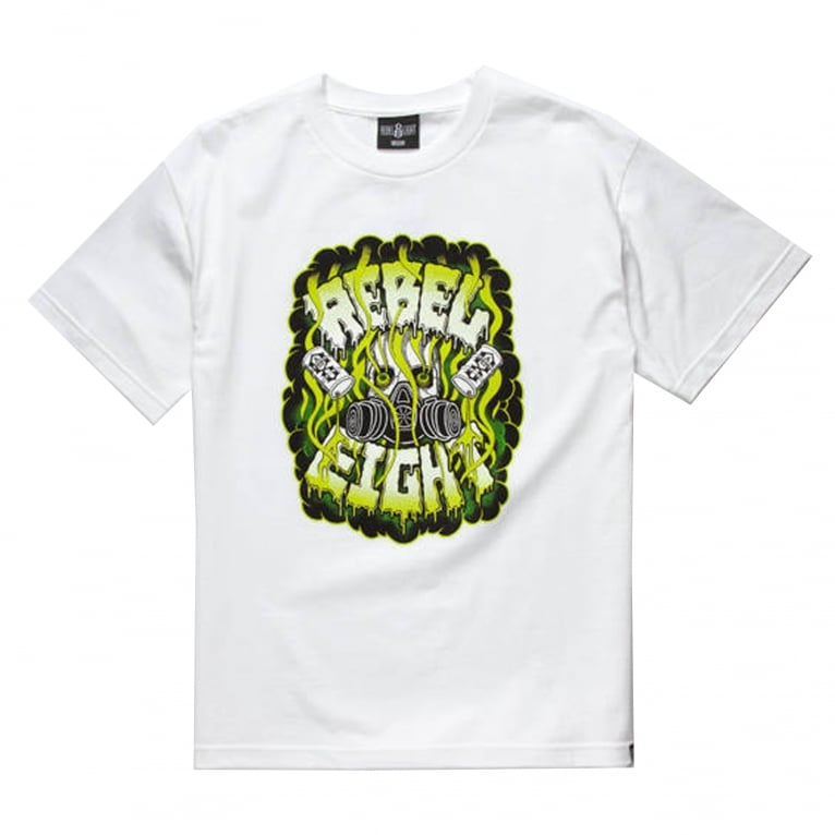 Rebel 8 Contamin8 T-Shirt - White