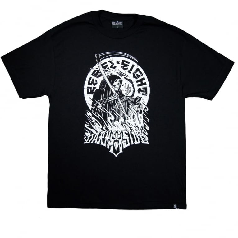 Rebel 8 Dark Side T-shirt - Black