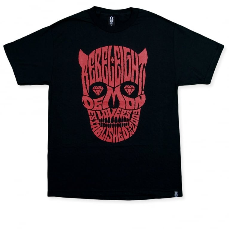 Rebel 8 Demon Lovers T-shirt - Black