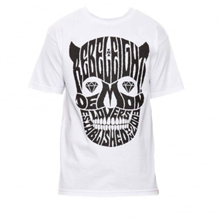 Rebel 8 Demon Lovers T-shirt - White