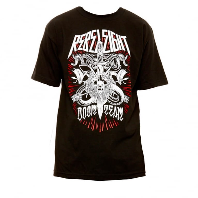 Rebel 8 Doom Team T-shirt - Black