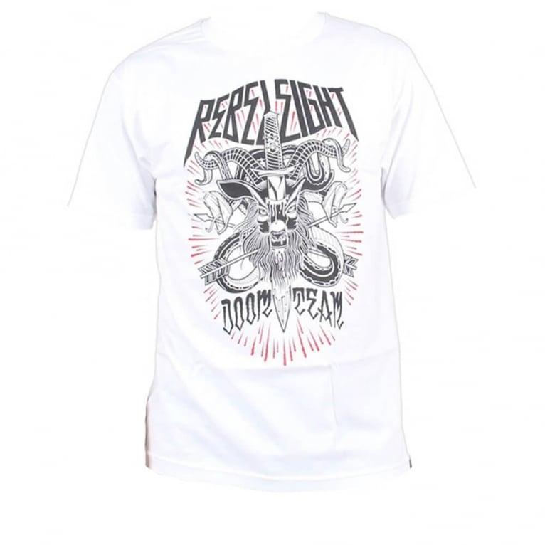 Rebel 8 Doom Team T-shirt - White