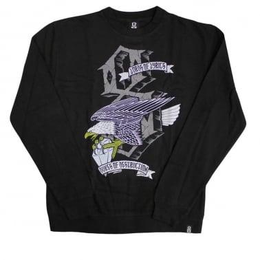 Dukes Crewneck Sweatshirt - Black