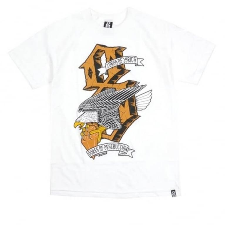 Rebel 8 Dukes of Destruction T-shirt - White