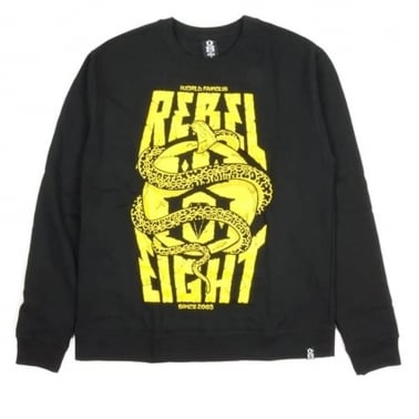 Famous Crewneck Sweatshirt - Black