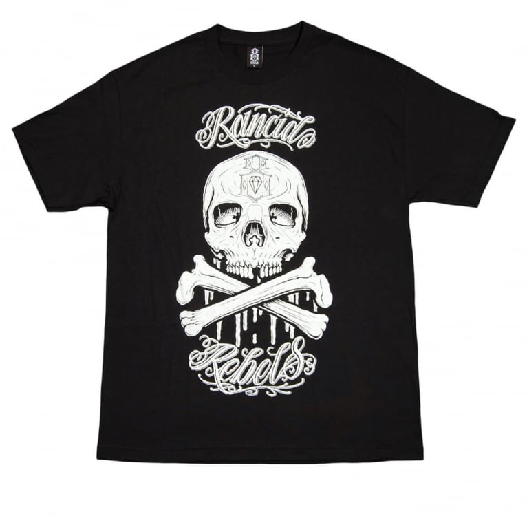Rebel 8 Old Friend T-shirt - Black