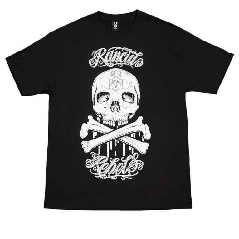 Rebel 8 Old Friend T-shirt - Black