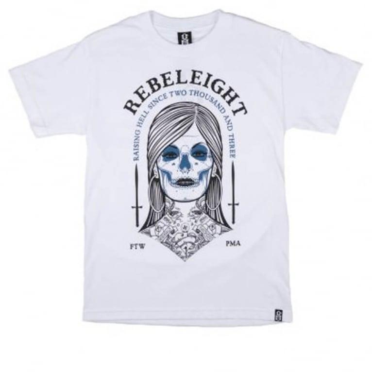 Rebel 8 Persephone T-shirt - White