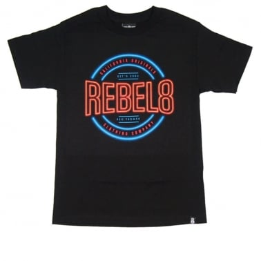 R8 Neon T-shirt - Black