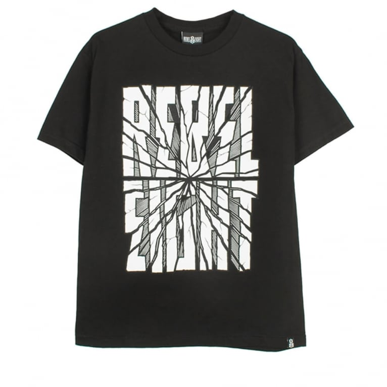 Rebel 8 San Andreas T-shirt - Black