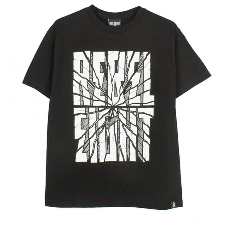 Rebel 8 San Andreas T-shirt - Black