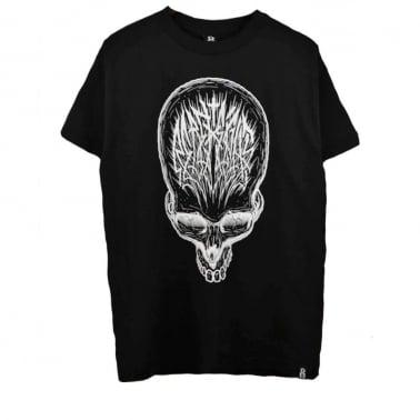 Skull Scribe T-shirt - Black