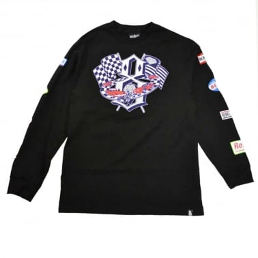Speedway Long Sleeve T-shirt - Black