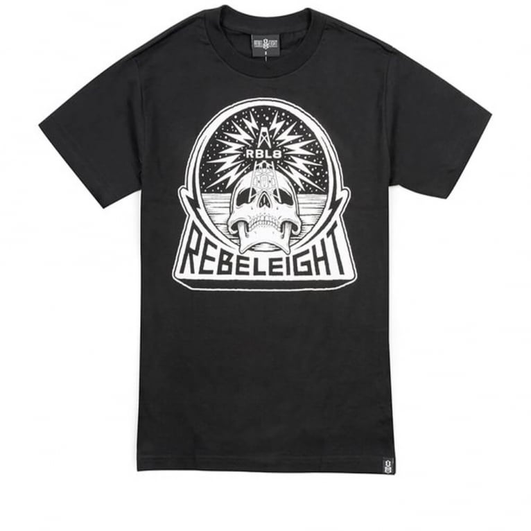 Rebel 8 Transmission T-shirt - Black