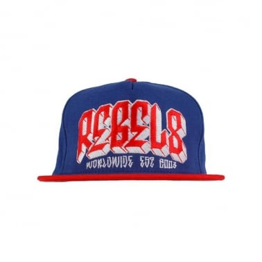 Worldwide All Star Snapback Cap - Royal Blue