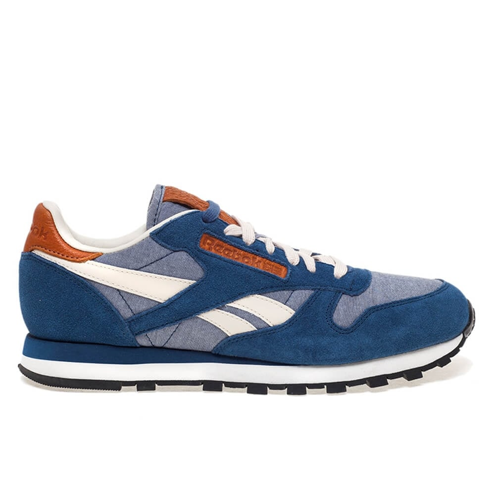 ea5b742a4f7 Reebok Classic Leather Chambray Blue White
